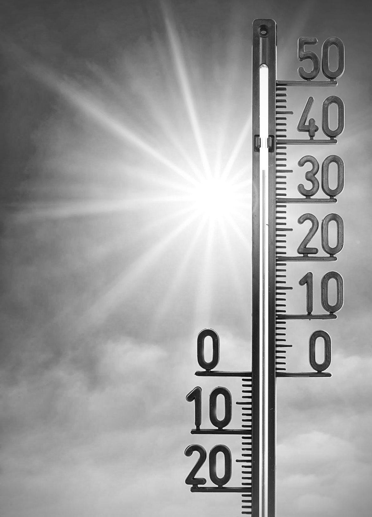 temperatuur in nieuwbouw